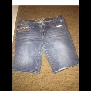Justice Jean shorts for plus girls 16.5.
